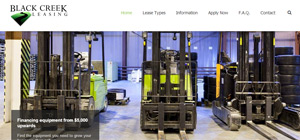 Black Creek Leasing - Website Portfolio Item